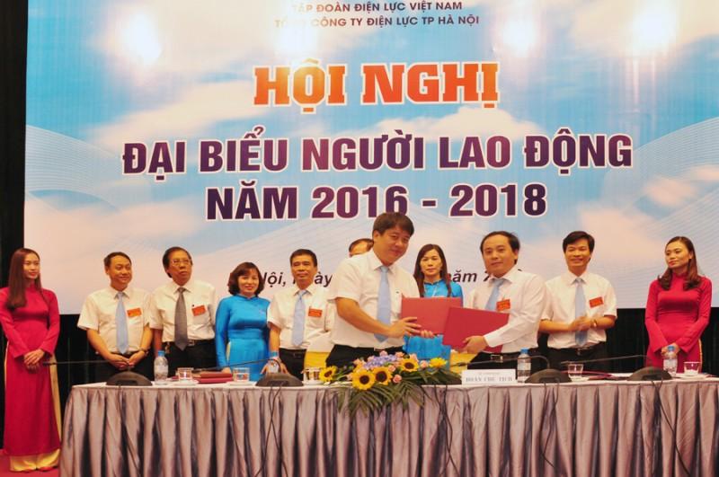 Hội nghị đại biểu Người lao động EVN Hà Nội năm 2016