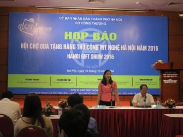 Hội chợ Quà tặng hàng thủ công mỹ nghệ Hà Nội 2016