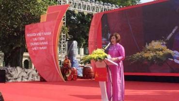 Khai mạc chương trình nhận diện hàng Việt Nam - Tự hào hàng Việt 2016
