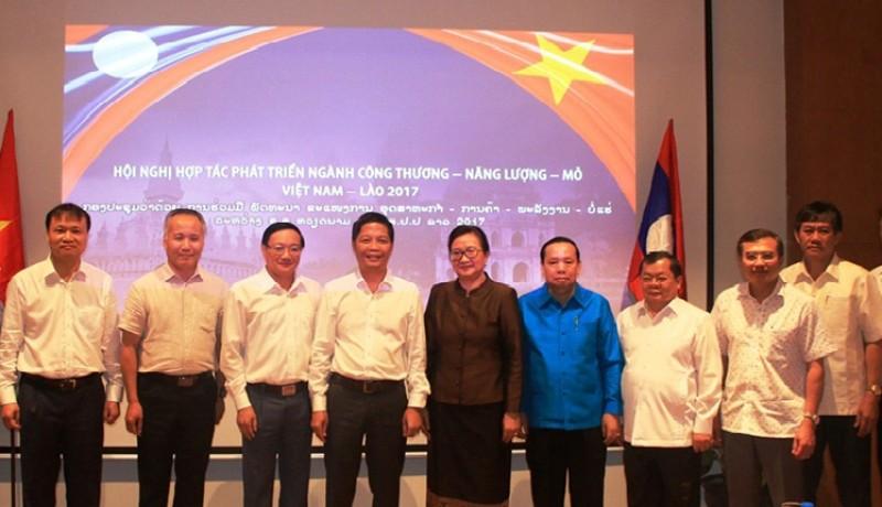 Việt Nam – Lào tăng cường hợp tác phát triển Năng lượng – Mỏ