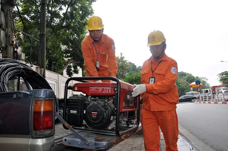 Đảm bảo điện phục vụ các hoạt động kỷ niệm ngày giải phóng Thủ đô