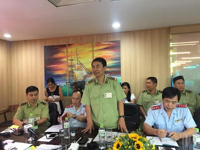 Kiến nghị xử lý về đảng đối với hai Phó Cục trưởng Cục Quản lý thị trường