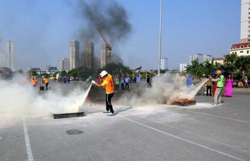 Quận Hà Đông: Tổ chức thành công Hội thao phòng cháy chữa cháy cơ sở và lực lượng dân phòng