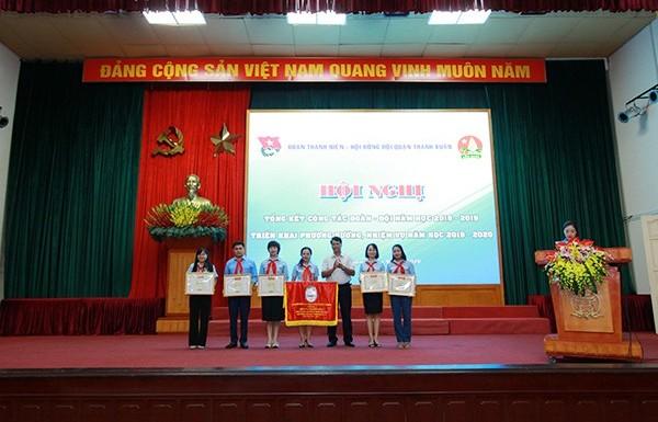 Quận Thanh Xuân: Biểu dương các đơn vị tiêu biểu trong công tác Đoàn – Đội