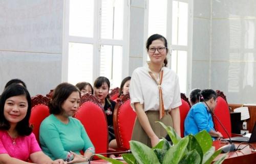 Phạm Minh Ngọc: Hạnh phúc khi trở thành giáo viên mầm non