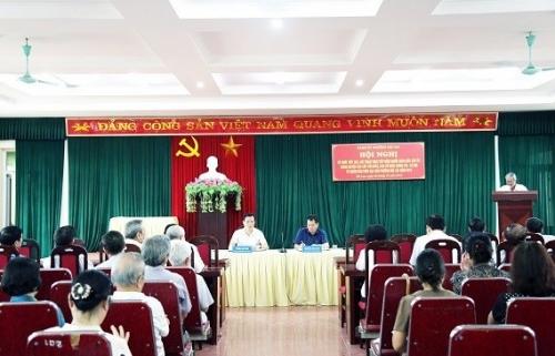 Tổ chức đối thoại giữa người đứng đầu cấp ủy, chính quyền với nhân dân
