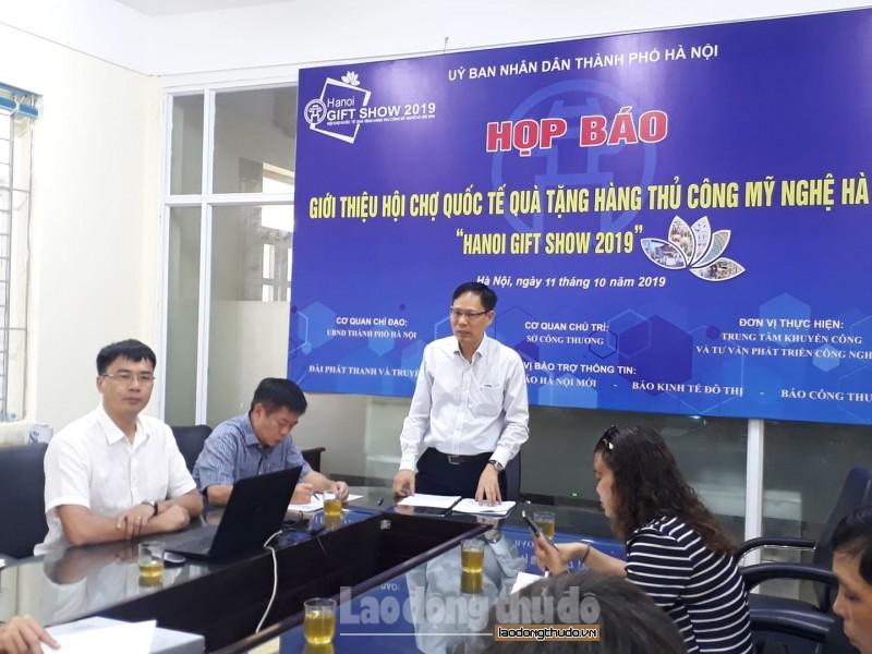 hanoi gift show 2019 se don tiep tren 10000 khach giao dich