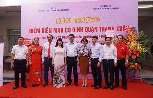 Quận Thanh Xuân: Chính thức có điểm hiến máu cố định