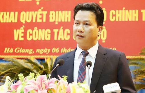 Hà Giang có Trưởng Đoàn đại biểu Quốc hội mới