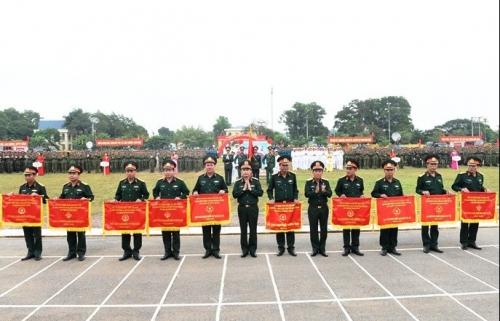 Quận Hà Đông đạt giải Nhất toàn đoàn khối Dân quân tự vệ