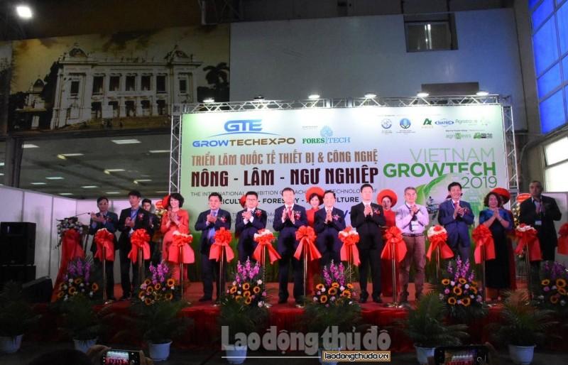 Vietnam Growtech 2019 thu hút 20 quốc gia và vùng lãnh thổ tham gia