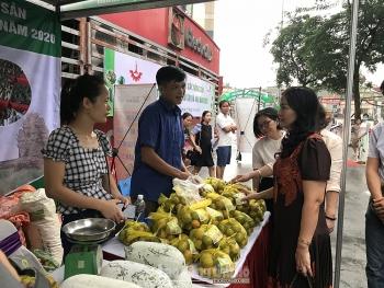 Khai mạc Tuần hàng trái cây, nông sản tại Hà Nội lần thứ 3 năm 2020