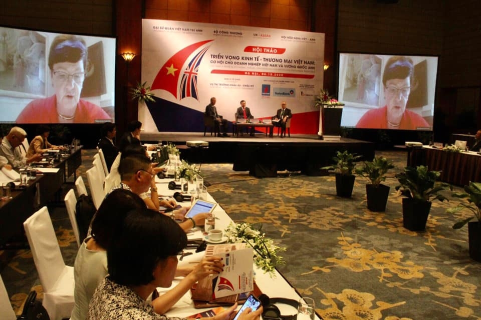 Cơ hội cho doanh nghiệp Việt Nam và Vương quốc Anh