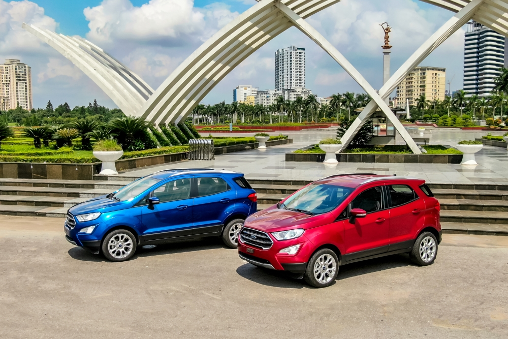 Ford EcoSport nâng cấp đáng kể trong công nghệ và thiết kế