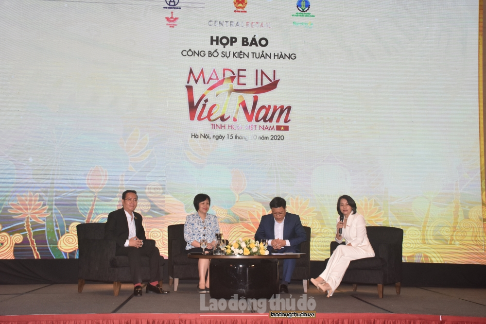 Tuần hàng Made in Việt Nam – Tinh hoa Việt Nam diễn ra tại Hà Nội từ ngày 23 - 25/10