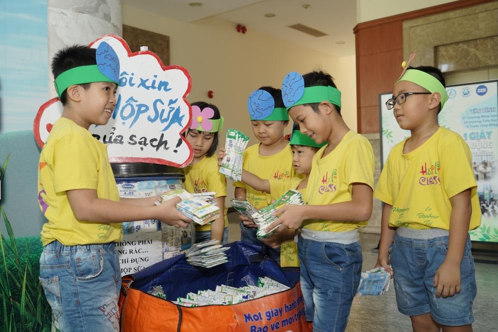 Ra mắt 7 điểm thu gom vỏ hộp giấy đựng đồ uống tại hệ thống siêu thị MM MegaMarket