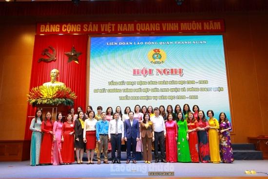 Liên đoàn Lao động quận Thanh Xuân: Tổng kết hoạt động công đoàn khối giáo dục năm 2019 - 2020