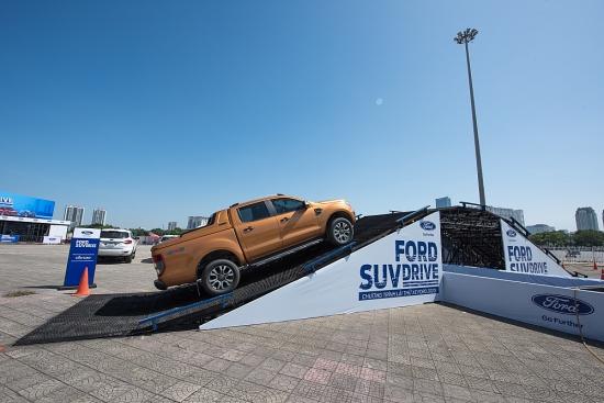 Lái thử Ford SUV Drive 2020 – Trải nghiệm off-road khác biệt trên địa hình mô phỏng thực tế