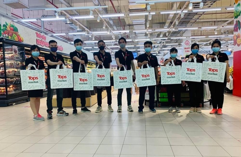 Siêu thị Tops Market đầu tiên xuất hiện ở Hà Nội