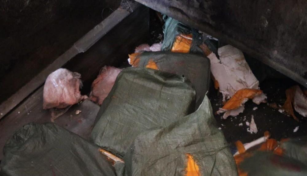 Hà Nội tiêu hủy 7 tấn nầm lợn không nguồn gốc