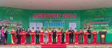 Khai mạc triển lãm quốc tế nông nghiệp AgroViet lần thứ 16
