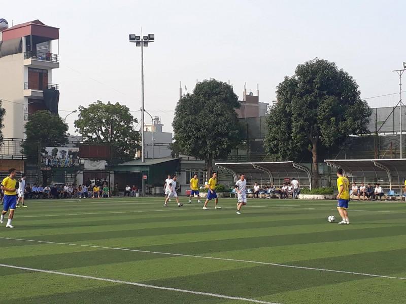 Khai mạc giải bóng đá CNVCLĐ quận Hà Đông năm 2017