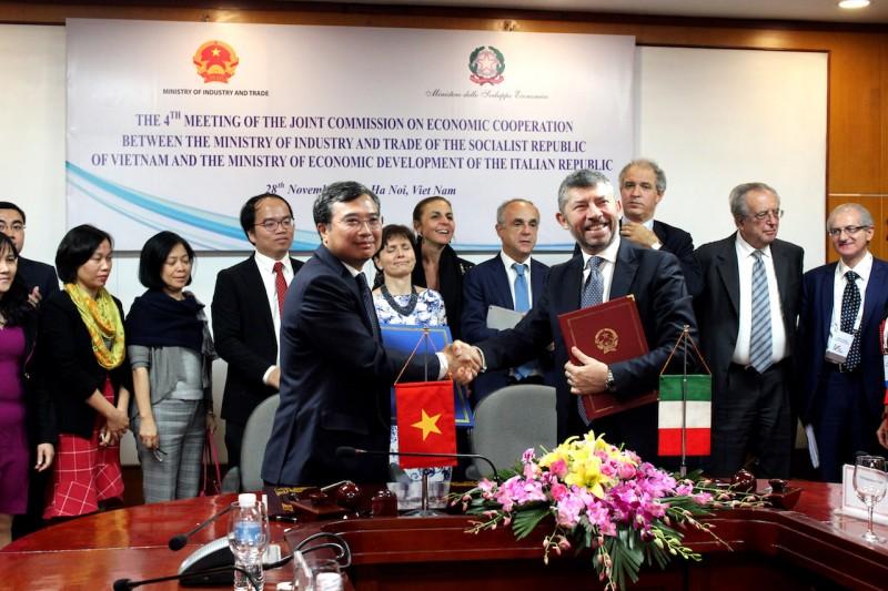 Việt Nam – Italia tăng cường hợp tác phát triển kinh tế