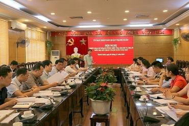 Thanh Xuân: Triển khai Kế hoạch Tổng điều tra Dân số và Nhà ở năm 2019
