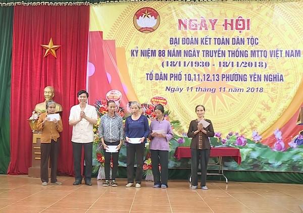Phường Yên Nghĩa (Hà Đông): Toàn dân đoàn kết xây dựng đô thị văn minh