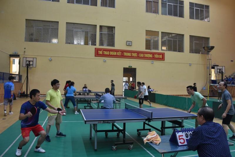 398 vận động viên tham gia Hội Thao CNVCLĐ quận Hà Đông năm 2018