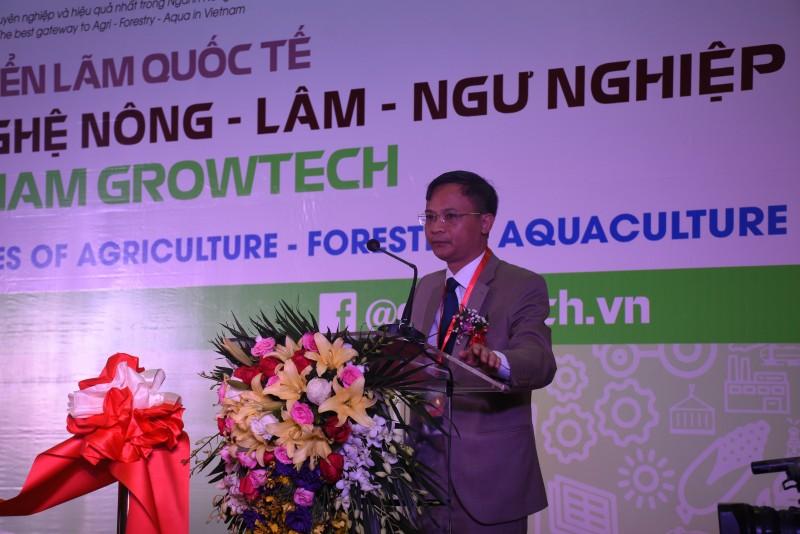 lan dau tien ha noi tham du trien lam vietnam growtech 2018