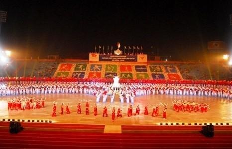845 vận động viên Hà Nội thi đấu tại Đại hội Thể thao toàn quốc lần thứ VIII