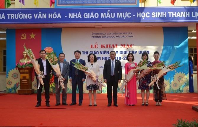 Quận Thanh Xuân: Thúc đẩy thi đua, nâng cao chất lượng giáo dục toàn diện