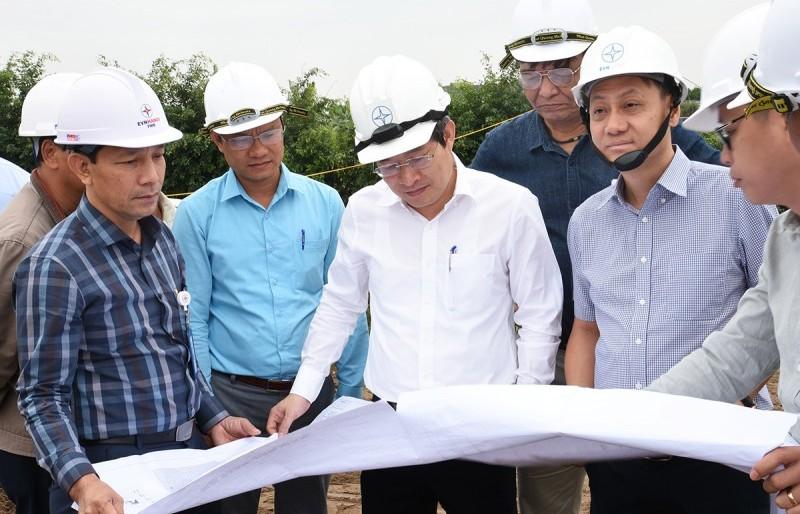 """EVN Hà Nội """"dồn sức"""" thi công xây dựng trạm biến áp 110kV Phú Xuyên"""