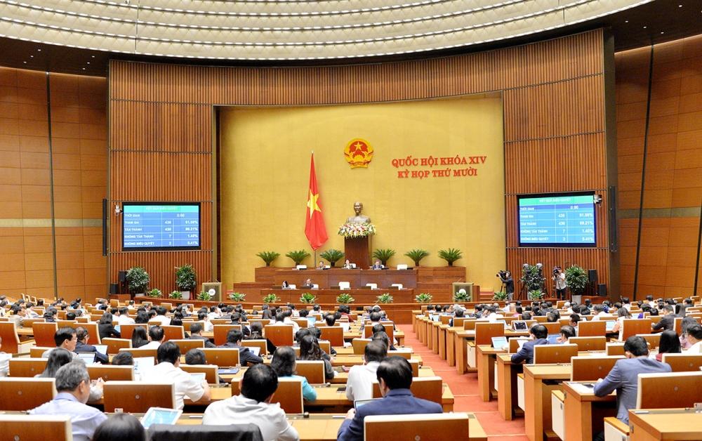 Quốc hội đặt chỉ tiêu tăng trưởng GDP đạt 6% trong năm 2021