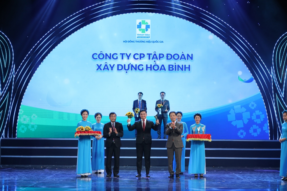 Tập đoàn Hòa Bình lần thứ 7 liên tiếp đạt thương hiệu quốc gia