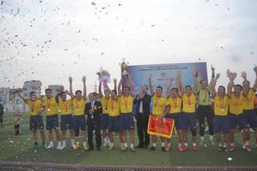 Công ty Điện lực Hoàng Mai giành chức vô địch