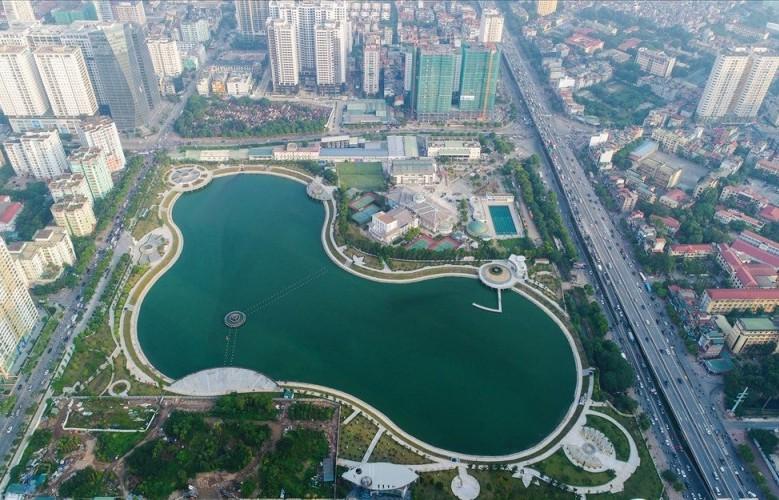 Khám phá không gian lý tưởng tại Công viên Thanh Xuân