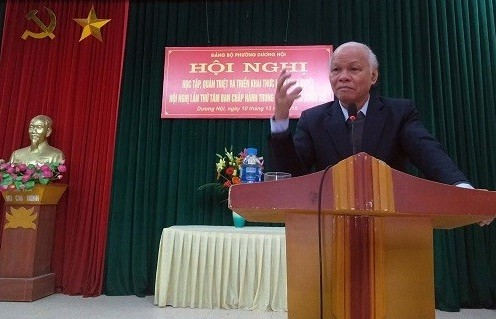 Quán triệt Nghị quyết Hội nghị Trung ương 8 (khóa XII) cho 600 đảng viên