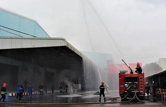 Đẩy mạnh công tác phòng cháy chữa cháy và cứu nạn cứu hộ