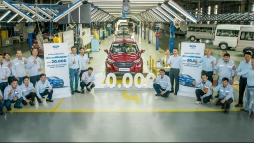 Ford Việt Nam xuất xưởng chiếc EcoSport thứ 20.000