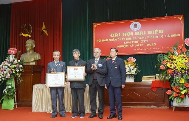 Hà Đông: Tổ chức Đại hội Hội Nạn nhân chất độc da cam/điôxin lần thứ 3
