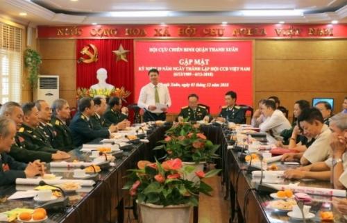 Quận Thanh Xuân tổ chức gặp mặt Hội Cựu chiến binh