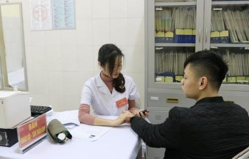 Quận Thanh Xuân: Tổ chức khám sức khỏe nghĩa vụ quân sự năm 2019