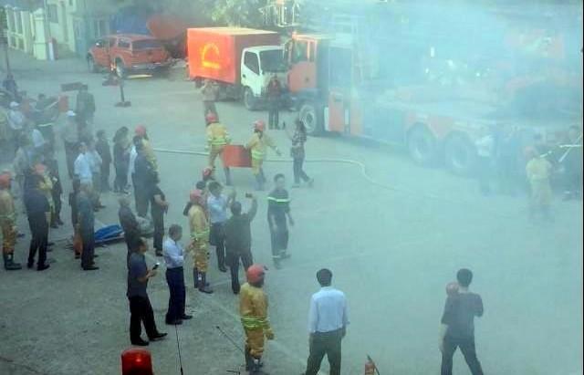 Tập huấn nghiệp vụ phòng cháy chữa cháy cho hơn 100 học viên