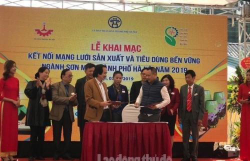 Tăng cường Kết nối mạng lưới sản xuất và tiêu dùng bền vững ngành sơn mài Hà Nội năm 2019