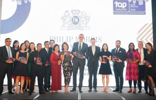 Philip Morris liên tiếp đạt danh hiệu 'Nhà tuyển dụng hàng đầu toàn cầu'