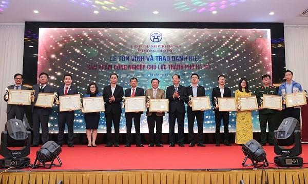 ha noi ton vinh 30 san pham cong nghiep chu luc nam 2019