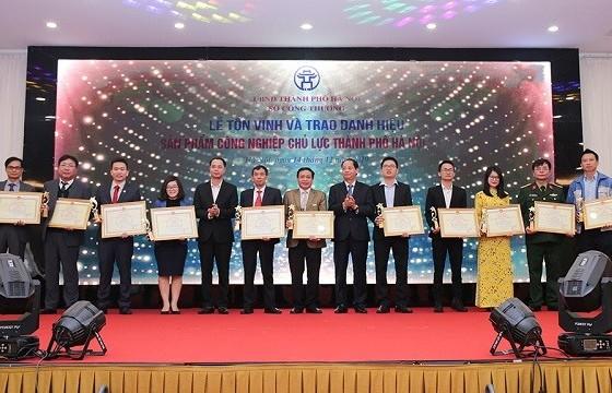 Hà Nội: Tôn vinh 30 sản phẩm công nghiệp chủ lực năm 2019
