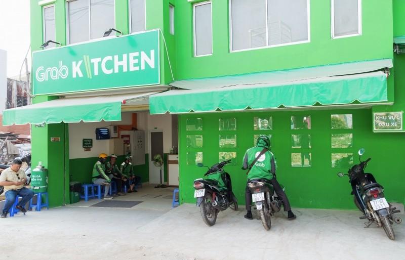 """Grab tiếp tục mở rộng mô hình """"căn bếp trung tâm' tại Việt Nam"""